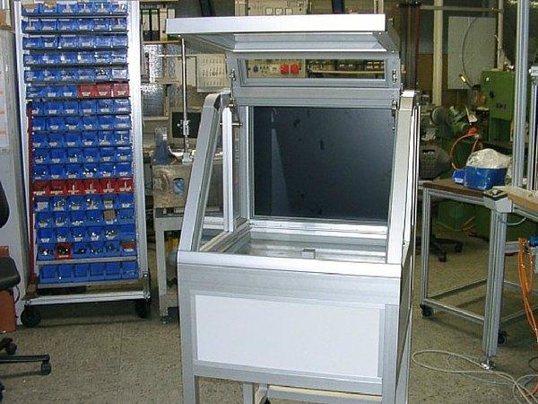 WeLe Leistungen Projekte Sondermaschinenbau
