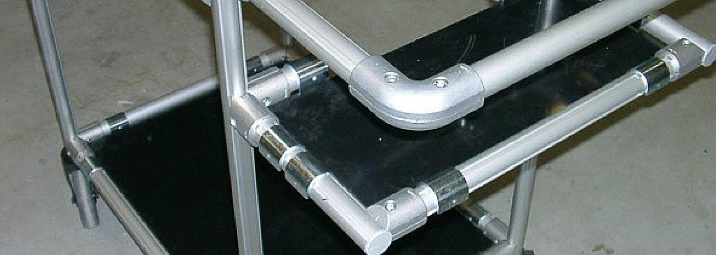 WeLe item Profiltechnik Beispiel Kommissionierwagen