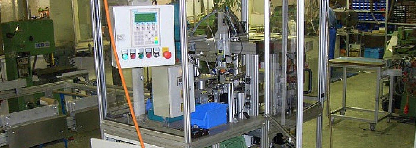 WeLe Sondermaschinenbau Beispiel Metallverarbeitung