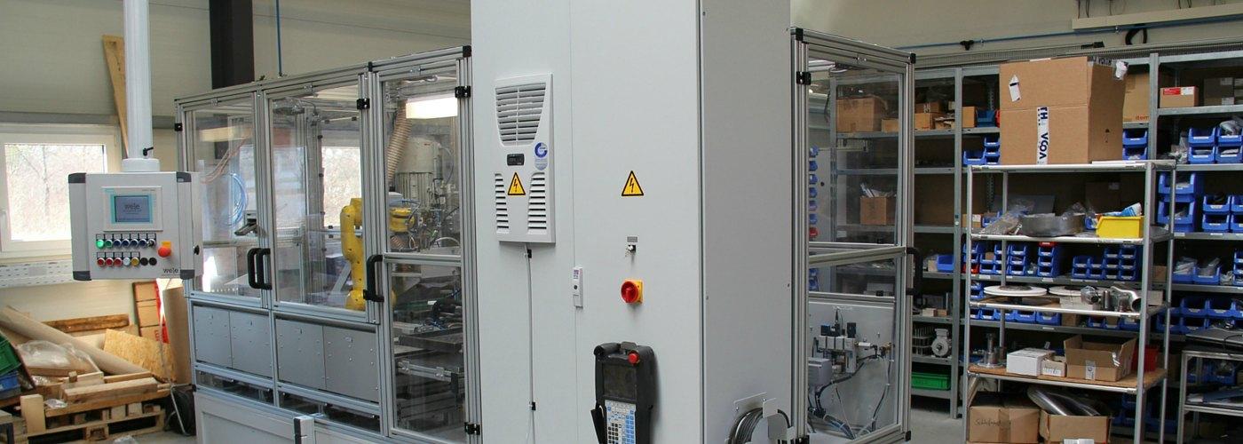 WeLe Sondermaschinenbau Beispiel Keramikverarbeitung
